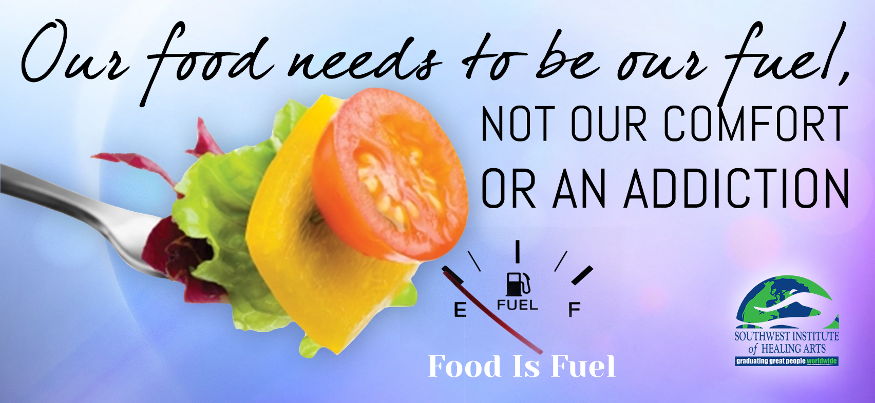 Food is Fuel - Nutritional Food For Thought