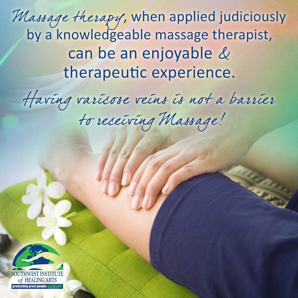 Varicose Veins, Massage