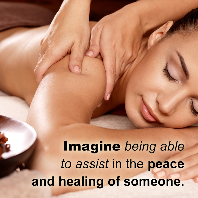 Imagine Therapeuic touch