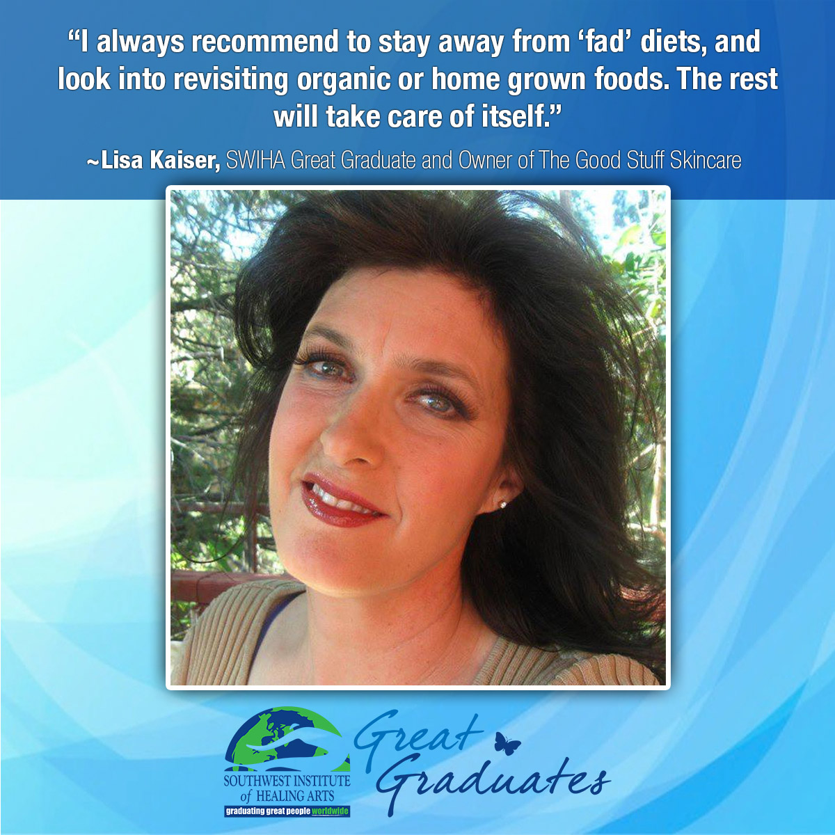 Lisa-Kaiser-Holistic Nutrition - Southwest Institute of Healing Arts