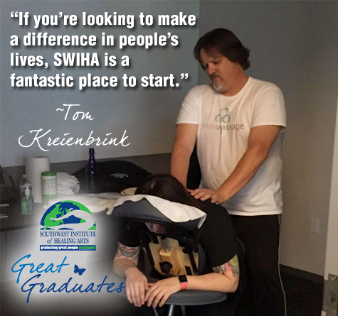 Tom Kreienbrink Great Graduate SWIHA