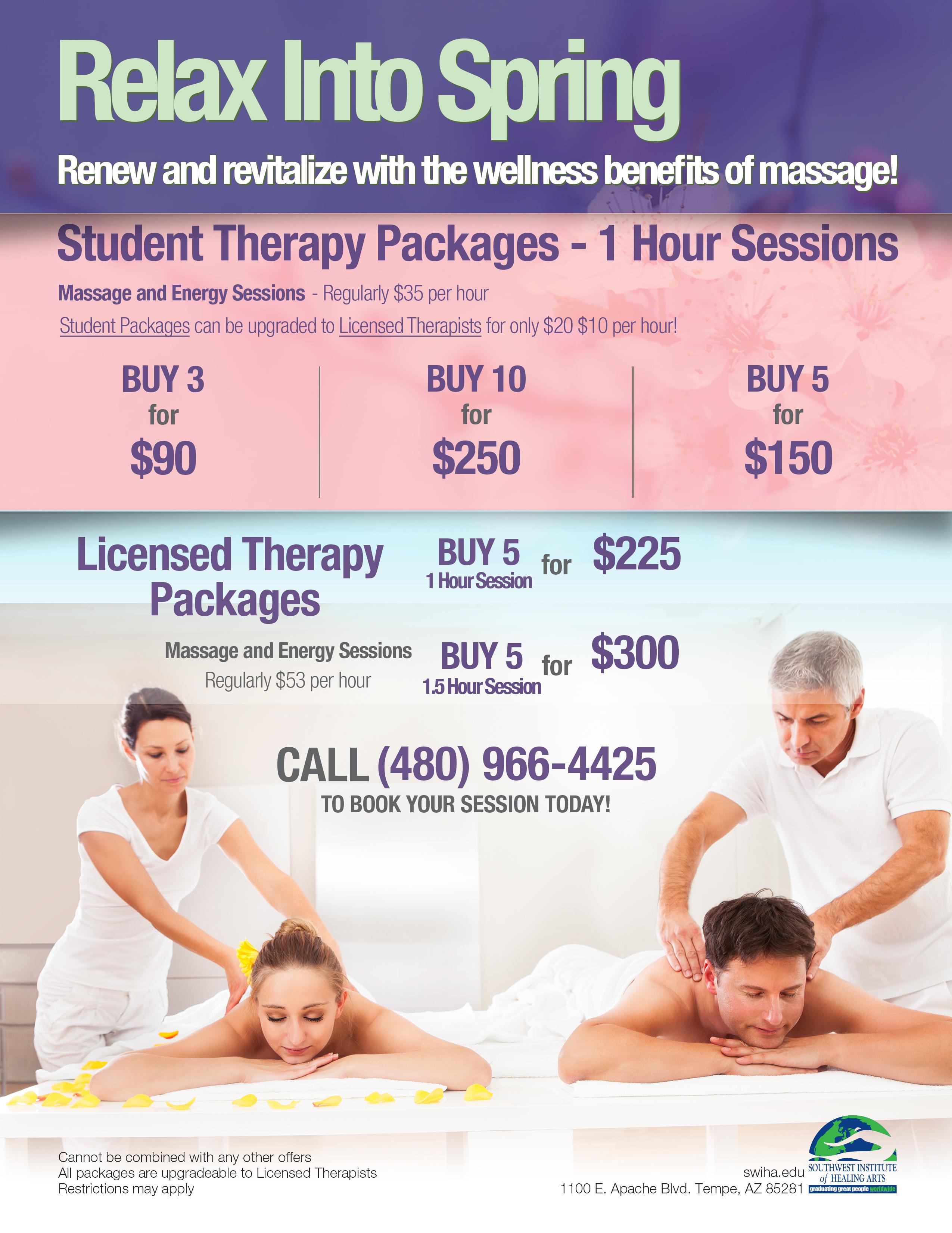 SWIHA Massage Clinic February Special