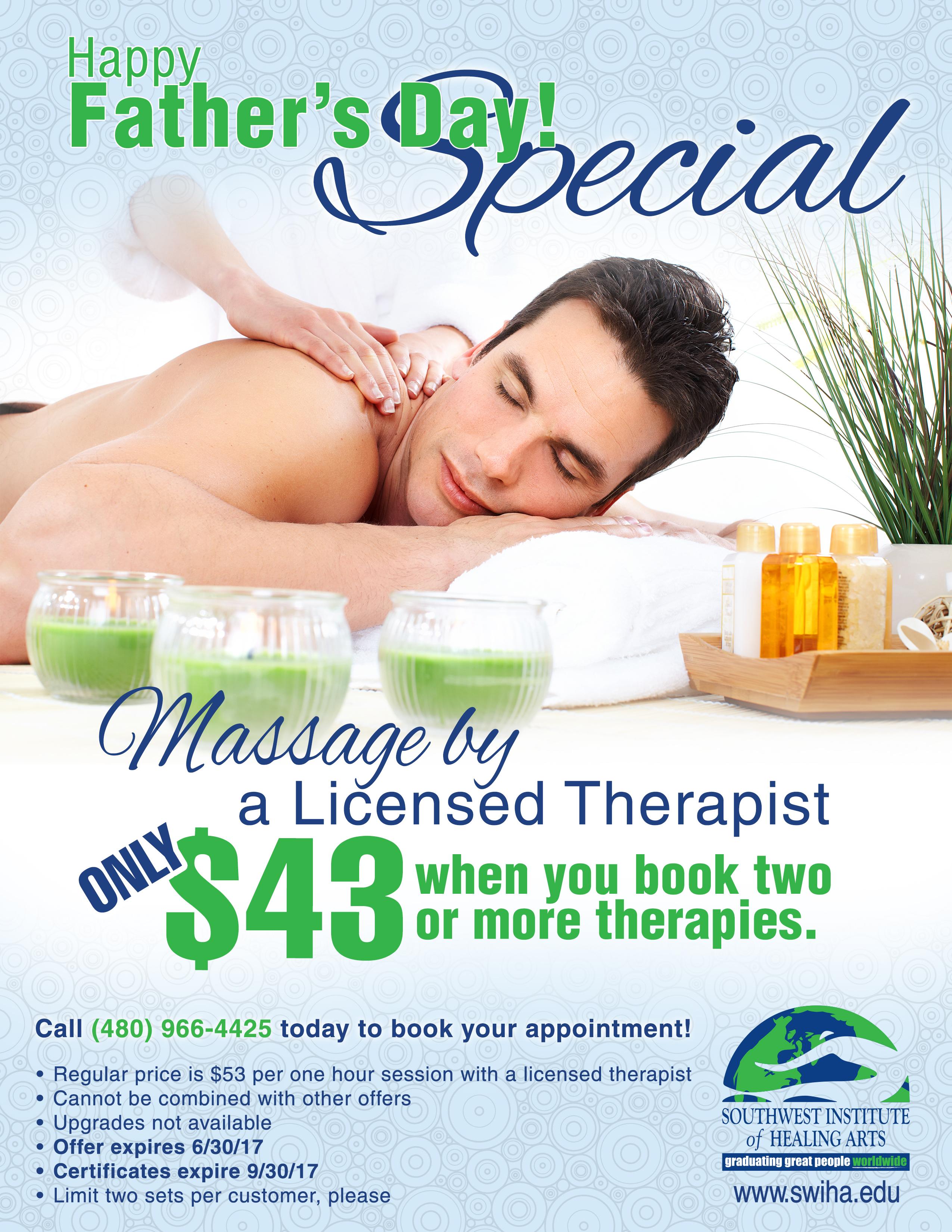 SWIHA Massage Clinic June Special