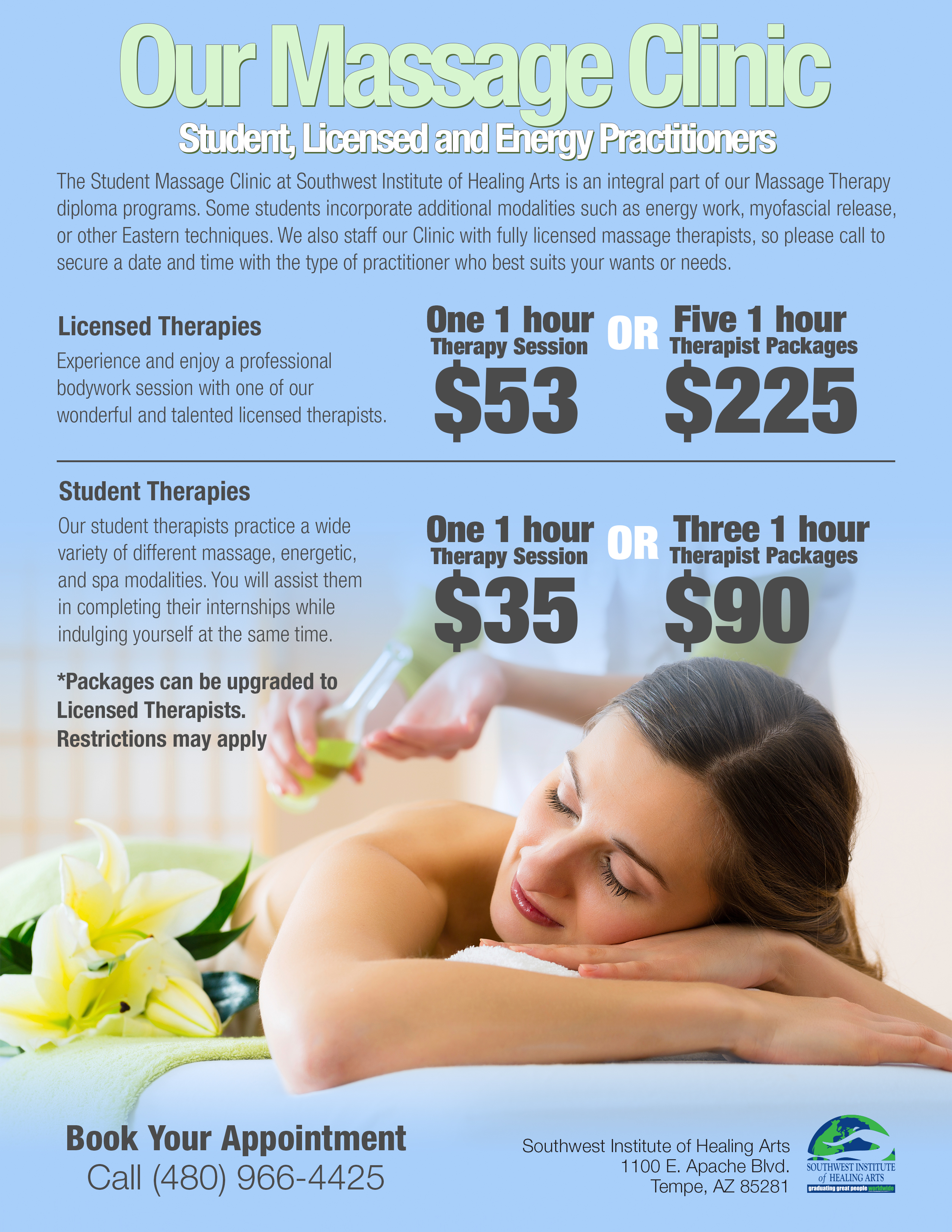 SWINA Clinic March Special