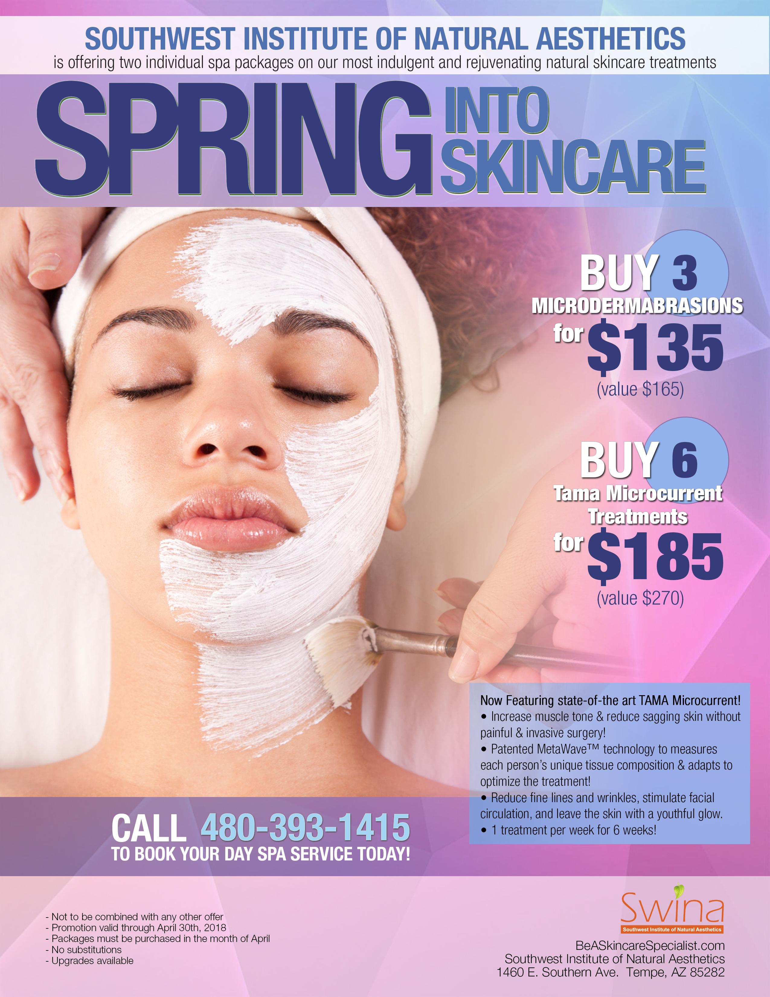 SWINA Clinic April Special