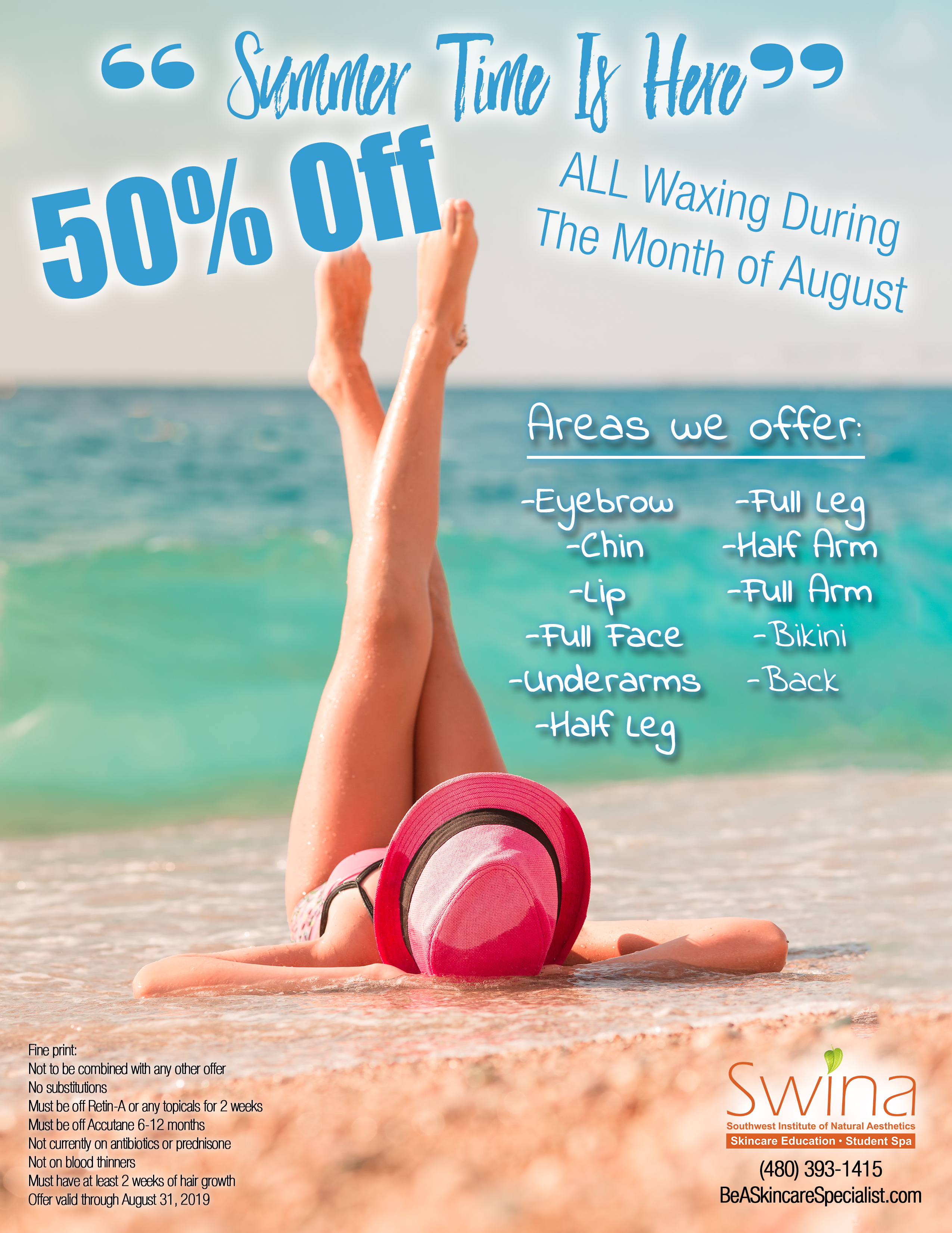 SWINA Clinic August Special