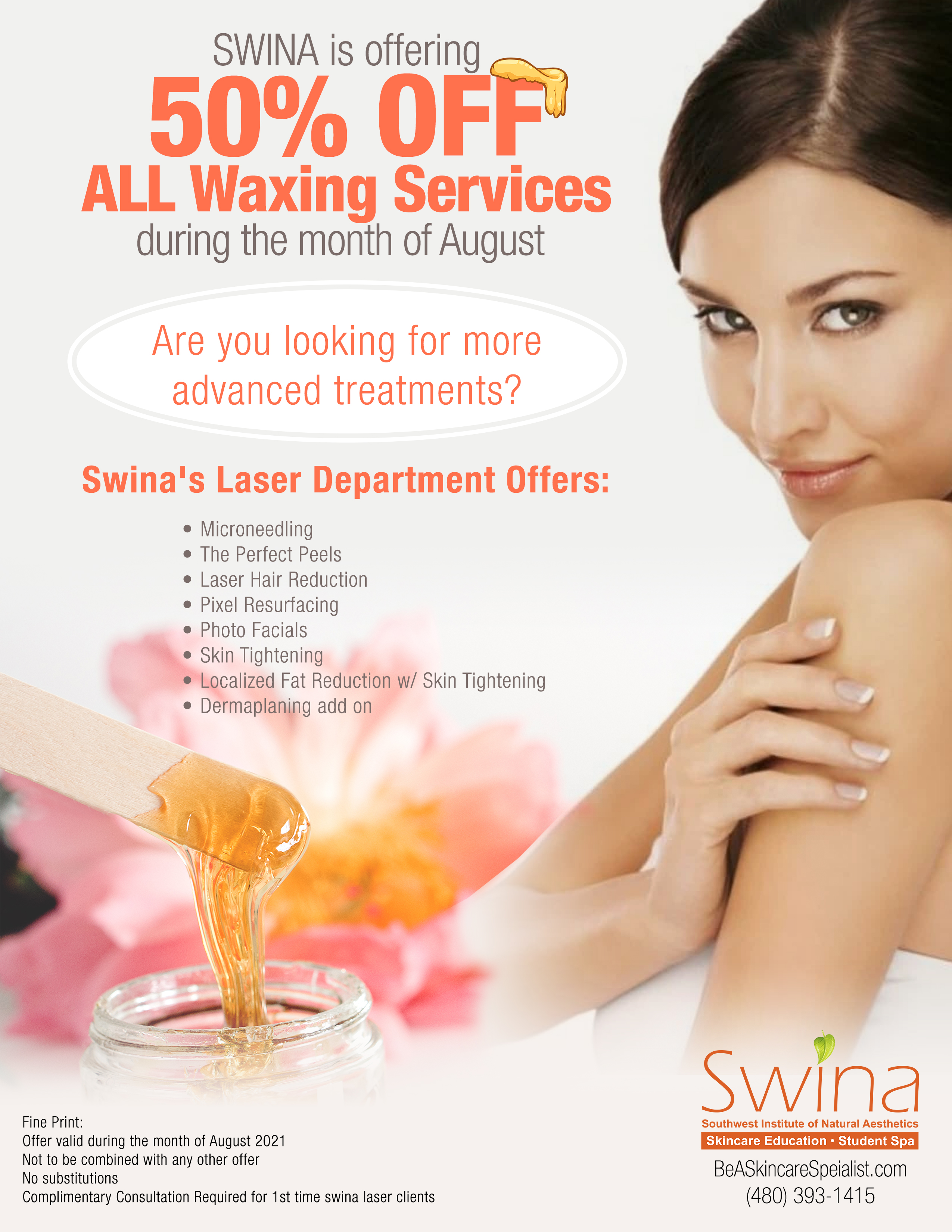 SWINA August Monthly Special