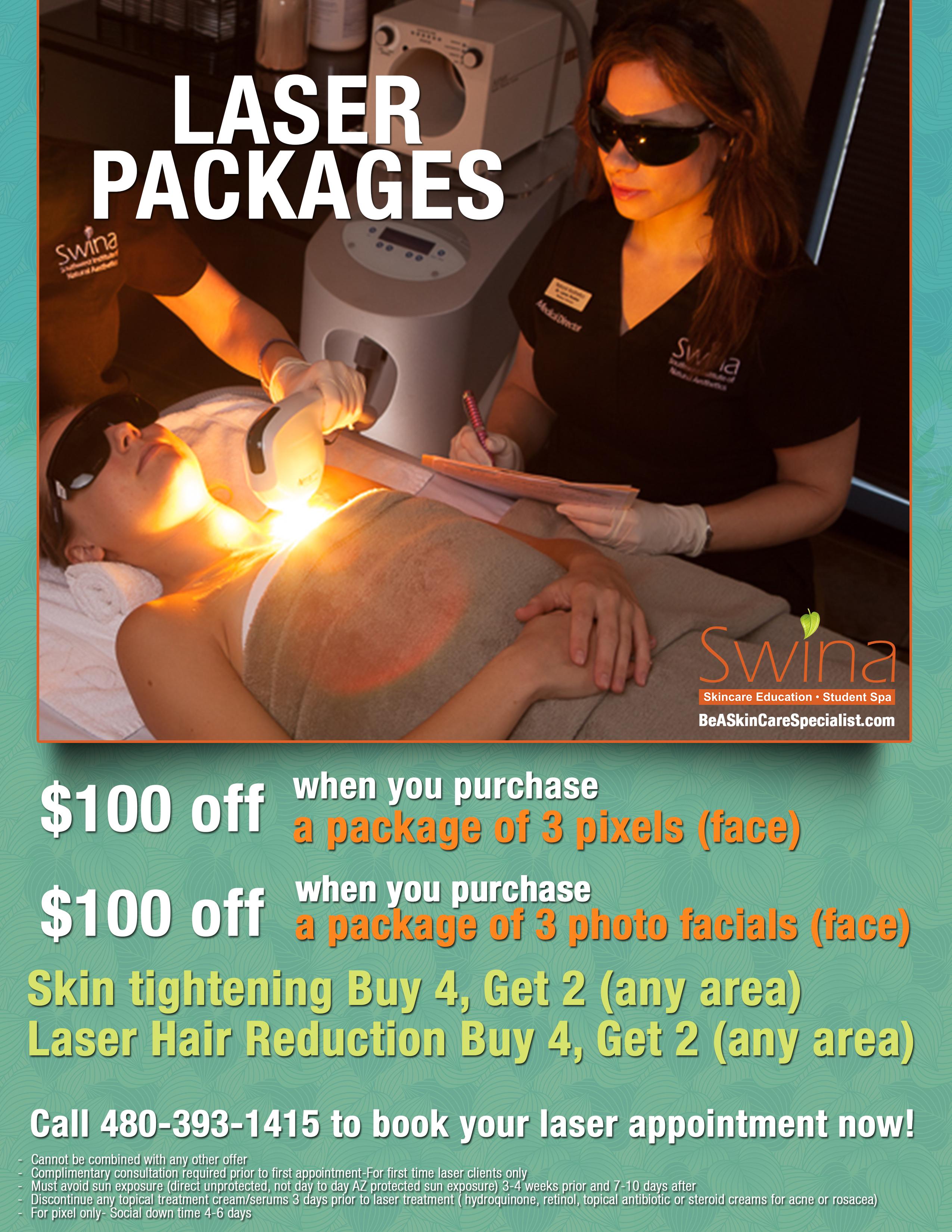 SWINA Clinic January Special