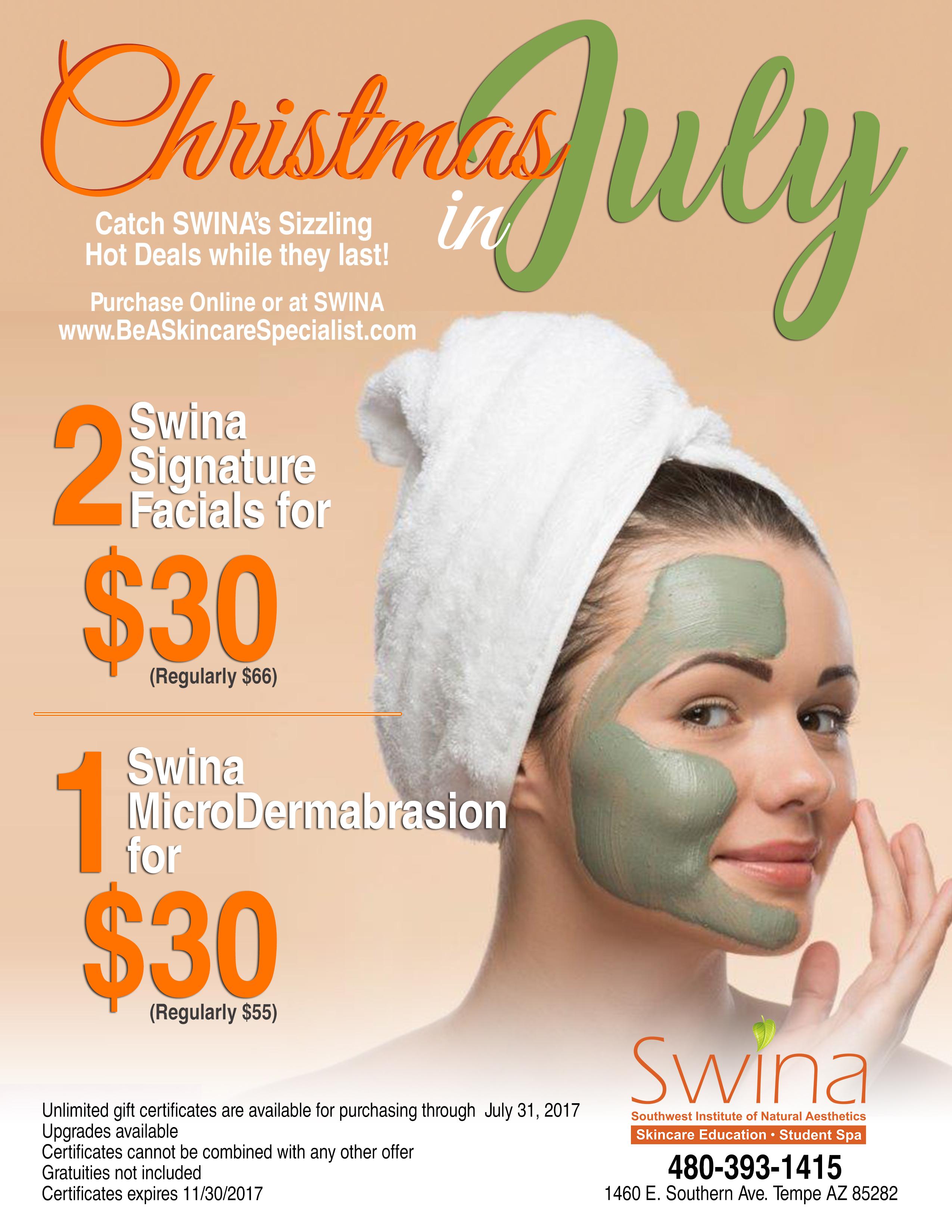 SWINA Clinic July Special