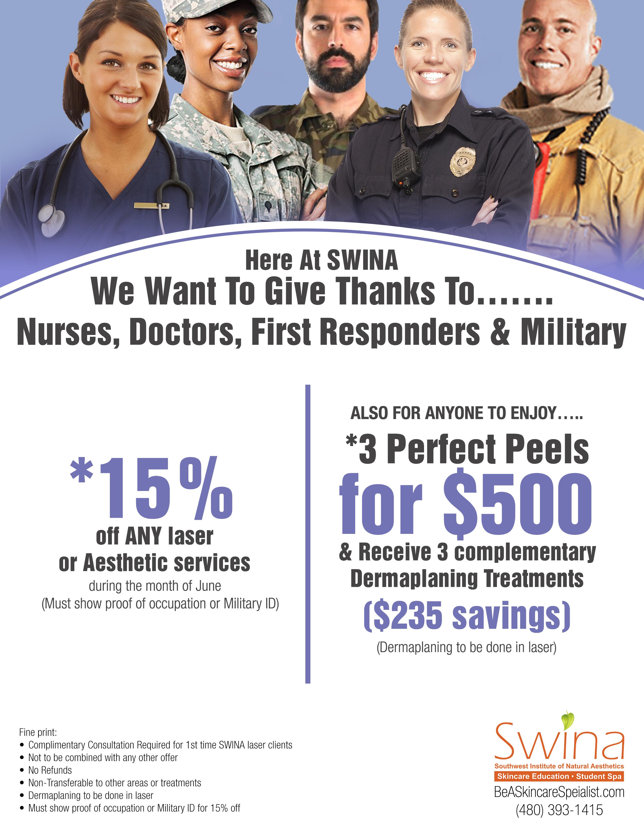 SWINA Clinic June Special