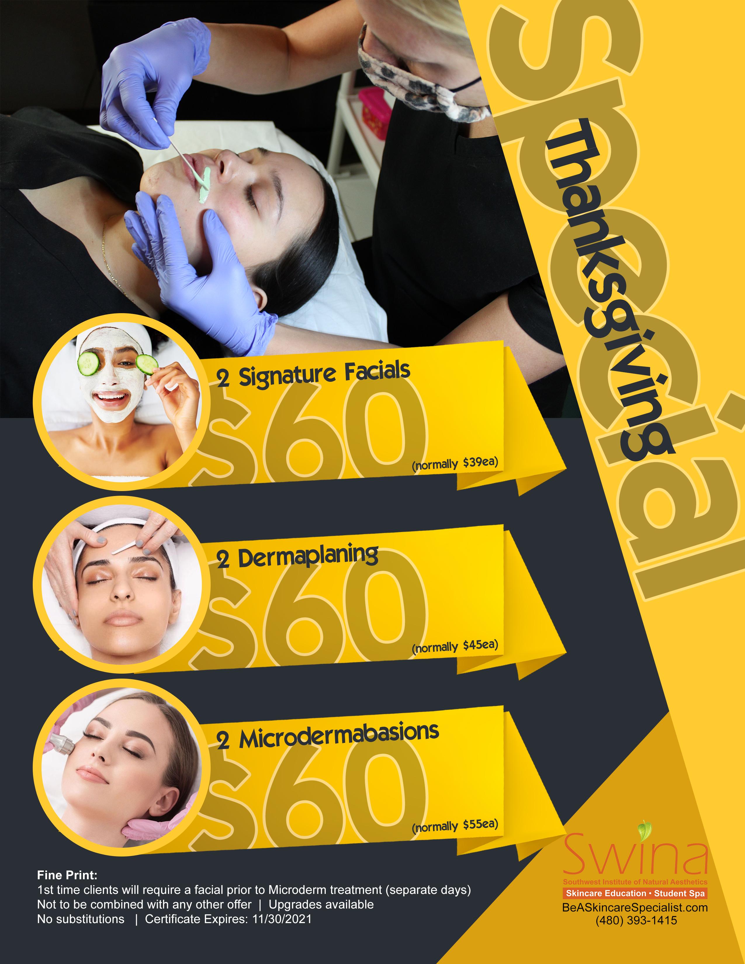 SWINA Clinic November Special