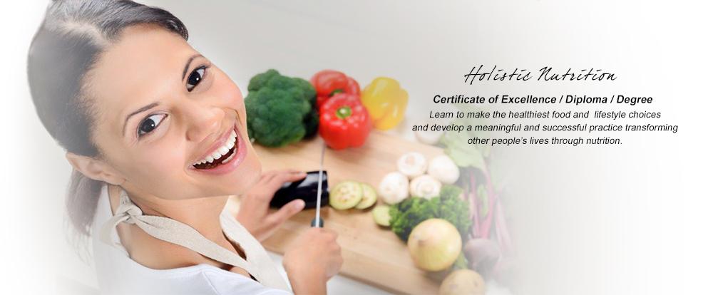 Online Certification: Holistic Nutrition Online Certification
