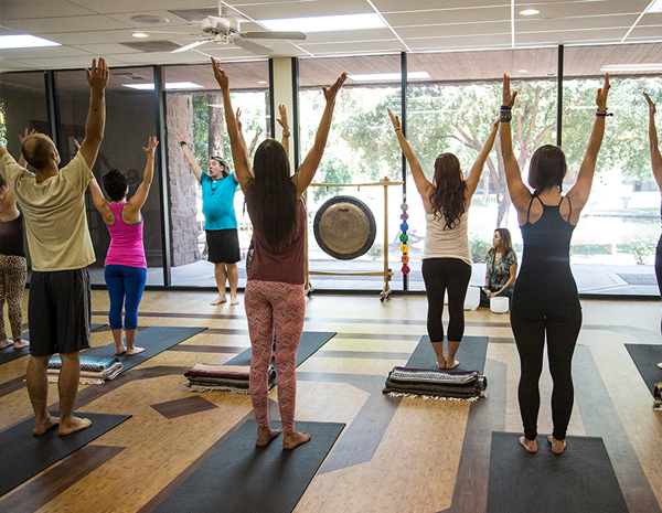 Massage and Yoga classes
